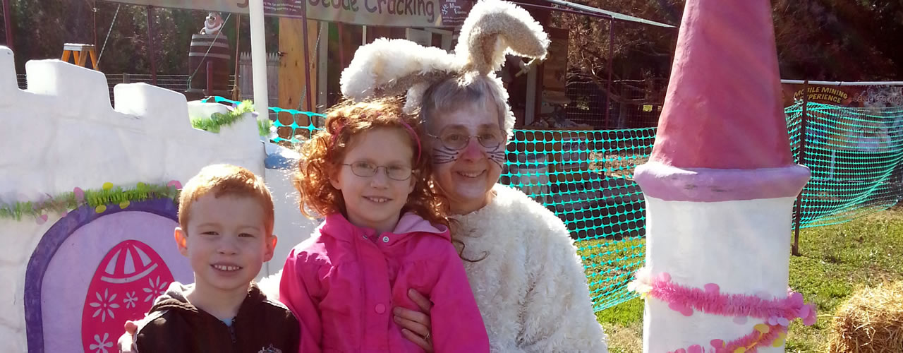 Special Weekends ... like easter at the farm