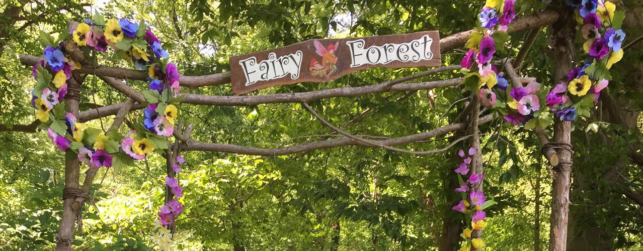 Fairy Forest at Clark's Elioak Farm - Walk through our new Fairy Forest and see where the fairies live
