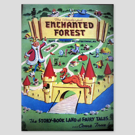 The Wonderful Enchanted Forest Coloring Book
